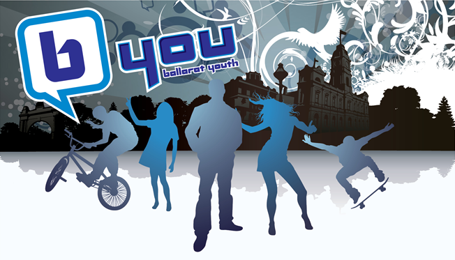 B You (Ballarat Youth) Full Logo